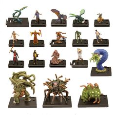 Arkham Horror: Monster Miniatures Wave One Collection | CoolStuffInc.com online retailer of board games, mtg and many other collectible card games