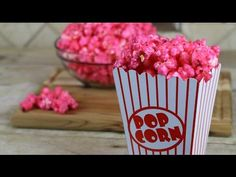 Bubble Gum Popcorn | How to Make Candy Popcorn - YouTube