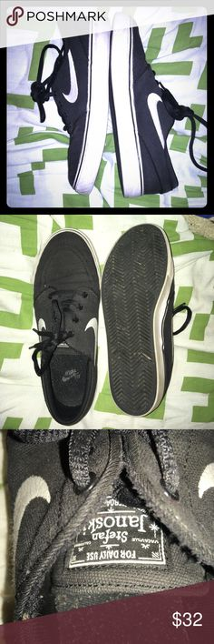Nike sneakers Stefan janoski Nike sneakers only worn a few times for boys  Fits 4.5 youth, but fits like a 6 for woman's good condition Nike Shoes Sneakers