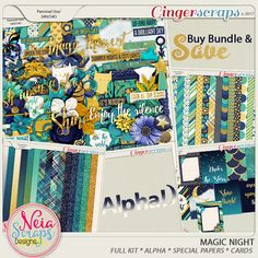 Magic Night - Bundle - By Neia Scraps