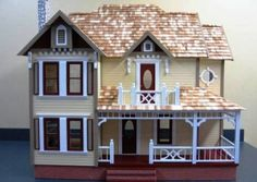 Bellingham Dollhouse via Nonnie's Dollhouses
