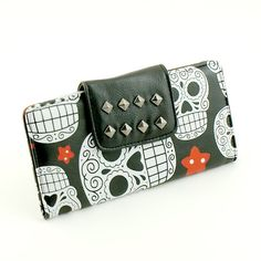 Stars and Skulls Wallet.  I might just have to surround my money with lots of ATTITUDE.