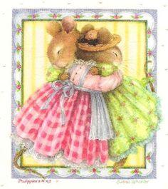 Bunny Hug ~ Holly Hill Pond ~ Susan Wheeler