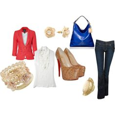 Nice dinner with friends, created by jessie-pineda on Polyvore