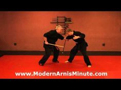 "Modern Arnis Minute #17 - The ""Drop Block"" - YouTube"