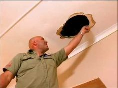 DIY How to Repair A Hole In The Ceiling