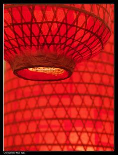 red colour is an auspicious 'theme colour' during chinese new year...