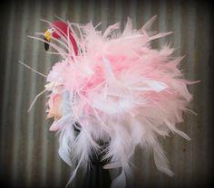 Alice in Wonderland Flamingo Mini Top Hat Alice in by ChikiBird