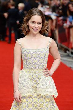 Emilia Clarke – 'Me Before You' Premiere in London 25.05.16