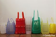 Plastic Baskets to Carry Around