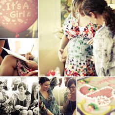 I LOVE photographing baby showers!!