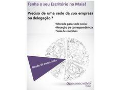 Sede ou Delegação para a sua empresa - Escritório na Maia
