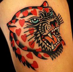 # - Land of Tattoos Neue Tattoos, Body Art Tattoos, Tattoo Drawings, Sleeve Tattoos, Tattoo Ink, Tatoos, Tattoo Forearm, Leopard Tattoos, Pretty Tattoos
