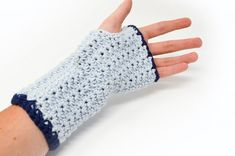 Gloves seem to be of excellent antiquity. These gloves aren't the warmest gloves and are in actuality, often worn to permit the hands to cool down. If you'd like the gloves longer add extra rows. Fingerless gloves may also be… Continue Reading → Baby Mittens Knitting Pattern, Crochet Fingerless Gloves Free Pattern, Crochet Baby Mittens, Crochet Mitts, Fingerless Mittens, Free Crochet, Wrist Warmers, Hand Warmers, Crochet Stars