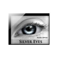NoirOptix Silver Eyes (3 Sizes) ($99) ❤ liked on Polyvore featuring beauty products, skincare, eye care and eyes