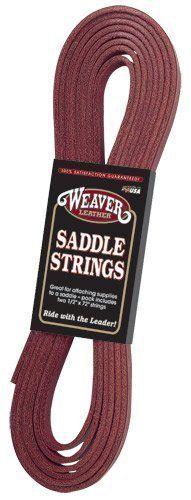 "Weaver Leather LATIGO SADDLE STRING 1/2X36"" by Weaver Leather, Inc.. $3.27. Weaver Leather LATIGO SADDLE STRING 1/2X36"""