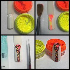 Наращивание ногтей гелем в г.Истра Diy Nail Designs, Colorful Nail Designs, Simple Nail Designs, Rainbow Nails, Neon Nails, Diy Nails, Nail Art Dessin, Swirl Nail Art, 3d Acrylic Nails
