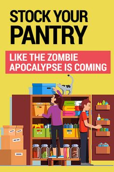 If you're simply looking to build a reasonable stockpile of food and save money in the process, this is probably right up your alley. Discount Grocery, Doomsday Preppers, Going Vegetarian, Emergency Supplies, Cool Store, Zombie Apocalypse, Ways To Save Money, Pantry, Saving Money