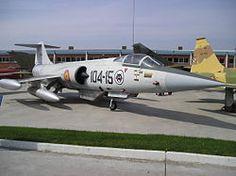 Lockheed F-104 Starfighter del Ejercito Español.                                                                                                                                                                                 Más