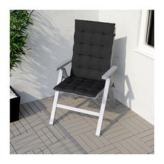 Strandliege ikea  IKEA - FALSTER, Chaise, gray, , , The back can be adjusted to six ...