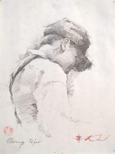 Sketch by Andre Kohn www.andrekohnfineart.com