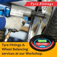 Looking for professional tyre fitters in Ahmedabad? Contact our team at United Tyre Sales & Service today for reliable tyre services. Call us on: +91-7926427019 #TyreFitting #WheelBalancing #Tyres #Ahmedabad