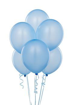 Color Azul Pastel - Pastels Blue!!! Balloons
