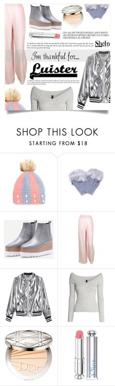 """""""Carried Away"""" by violet-peach ❤ liked on Polyvore featuring Chanel, Sans Souci, H&M and Christian Dior"""