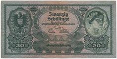 20 Schillinge 1925 (Frauenportrait) Österreich Erste Republik