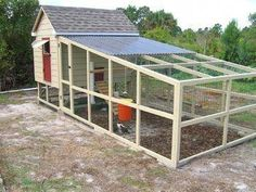 Raising chickens has gained a lot of popularity over the past few years. If you take proper care of your chickens, you will have fresh eggs regularly. You need a chicken coop to raise chickens properly. Use these chicken coop essentials so that you can. Chicken Coop On Wheels, Walk In Chicken Coop, Mobile Chicken Coop, Chicken Coop Pallets, Chicken Barn, Portable Chicken Coop, Best Chicken Coop, Backyard Chicken Coops, Building A Chicken Coop