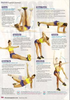 Express Workout #healthy #fitness #workout #exercises