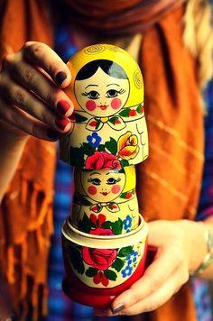 Matryoshka – Russian nesting doll.