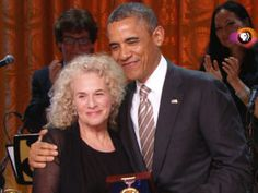 Carole King is such a talent -- obviously that's why she received this award. So happy for her!