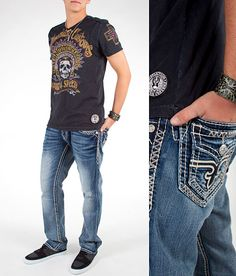 """Go-To Blues"" #buckle #fashion www.buckle.com"