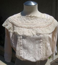 >Edwardian Skirt and Blouse | Wearing History® Blog