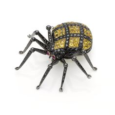 Spider Brooch - Heming Jewellers London - Diamond Rings, Diamond Jewellery, Watches and Antiques.