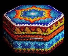 Image result for beaded boxes