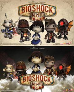 LittleBigPlanet and Bioshock Infinite Crossover via Reddit user thephoenix3000