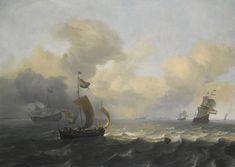 backhuysen ludolf dutch vessels off | marine | sotheby's l16034lot92z5zen