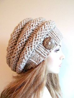 Looking for your next project? You're going to love Bulky Slouch Beanie Beret Beehive Hat by designer Looking for your next project? You're going to love Bulky Slouch Beanie Beret Beehive Hat by designer Slouch Beanie, Crochet Beanie, Knitted Hats, Knit Crochet, Crochet Hats, Slouchy Hat, Free Crochet, Loom Knitting, Free Knitting