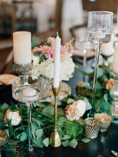 Rustic classy wedding decor: http://www.stylemepretty.com/colorado-weddings/tabernash/2016/10/10/rustic-glamour-pastel-outdoor-ranch-wedding/ Photography: Connie Whitlock - http://conniewhitlockphoto.com/