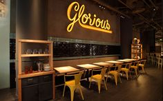 Glorious Chain Cafe by Diesel.