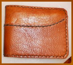 Handmade  brown 2 tone leather man's wallet by g2p by G2Pleather, $22.99