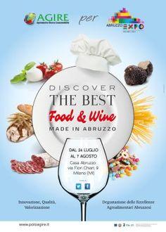 Expo2015, l'etichetta nutrizionale e l'aperitivo abruzzese visto con gli occhi della scienza