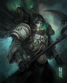 Mortarion, primarch of Dusk Riders (Death Guard)