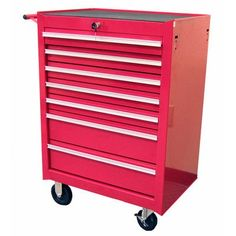 Awesome 7 Drawer Roller Cabinet