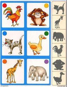 Preschool Printables, Teaching Kindergarten, Preschool Learning, Montessori Activities, Fun Activities For Kids, Literacy Activities, Math For Kids, Fun Math, Animal Habitats