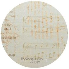 love_song_vintage_print_decorative_paper_diy_wedding