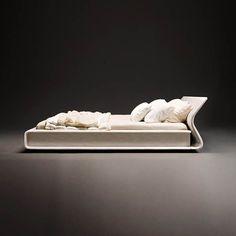 Letto Clip -design Patricia Urquiola- Molteni&C