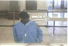 Man suspected of robbing a Wells Fargo branch in District Heights on April 25.